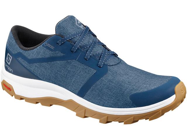 Salomon Outbound GTX Chaussures Homme, poseidon/white/gum1a